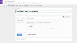 el uso de las encuestas online en las administraciones públicas