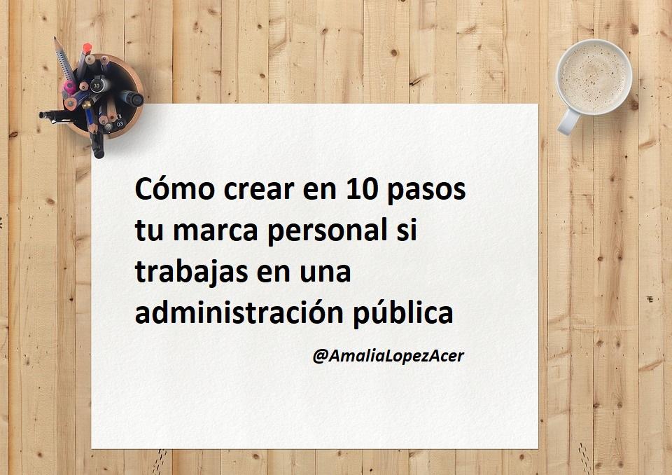 Marca Personal en Administraciones Publicas