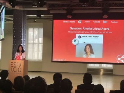 Amalia Lopez Acera - Redes Sociales y Administraciones Publicas - Bio - Premio Dia de Internet 2017