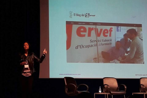 Amalia Lopez Acera - Conferencia - Servef