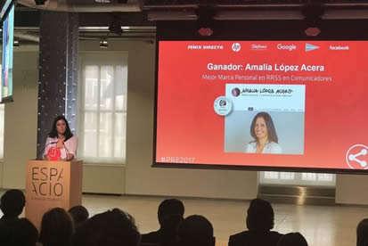 Amalia Lopez Acera - Testimonios - Premios