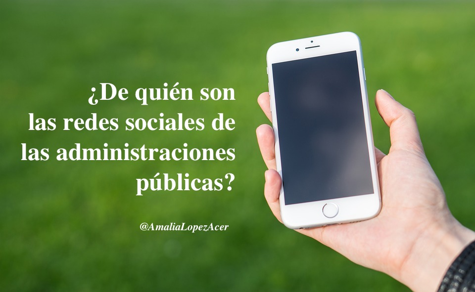Redes sociales administraciones públicas