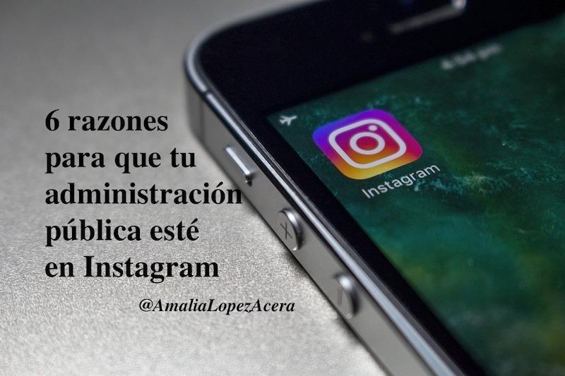 Instagram administración pública