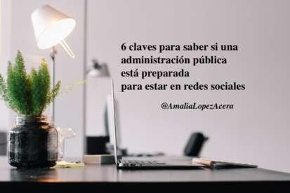 administración pública en redes sociales